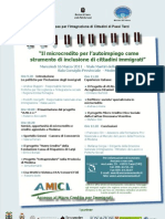 Progetto AMICI - Microcredito per immigrati