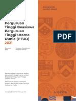 Perguruan Tinggi Tujuan Luar Negeri PTUD  2021