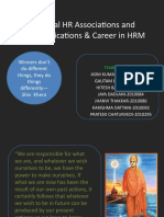 HR certifications and careers