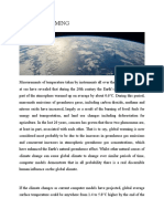 GLOBAL WARMING AND CARBON CREDITS