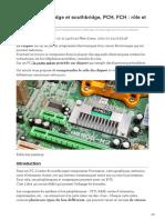 hebergementwebs.com-Chipset northbridge et southbridge PCH FCH  rôle et définition