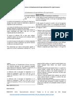 Cuadro resumen sobre características técnicas y de fundamentación de espectrofotómetros IR vs tipo de muestra