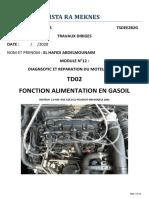 M12 TD 2 F.ALIMENTATION EN CARBURANT (1)