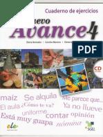 Nuevo Avance 4 Cuaderno de Ejercicios