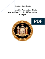 Report on the Amended Executive Budget FINALt
