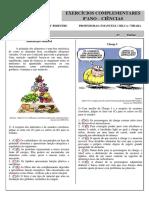 Atividade - 7º Série - Sistema Digestório V