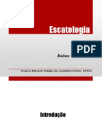 Escatologia Aulas 9 e 10 v3 Para Internet