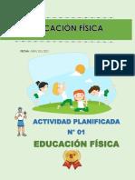 ACTIVIDAD Nº 01 Secundaria 5º Educación Física
