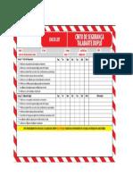 checklist cinto segurança