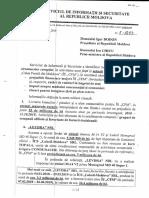 Raport Serviciului de Informații și Securitate CFM