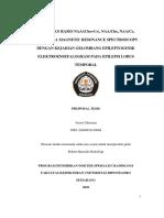 Dr. Victor (Proposal Tesis) Hubungan Rasio NAA (Cho+Cr), NAACho, NAACr, ChoCr Pada Magnetic Resonance Spectroscopy