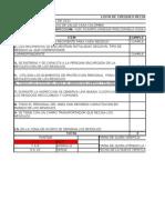 lista de chequeo para la recolecion de residuos gestion ambiental