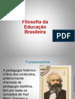 FUNDAENTOS DA EDUCAÇÃO BRASILEIRA
