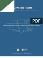 Appcelerator-IDC-Q4-Mobile-Developer-Report