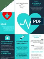 folleto medico