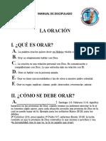 LA ORACIÓN (DISCIPULADO(tema #3)) (1)