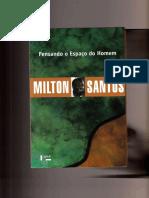 Pensando o Espaço Do Homem by Milton Santos (Z-lib.org)