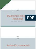 Diagnóstico Kinésico Funcional