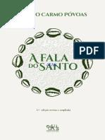a_fala_do_santo