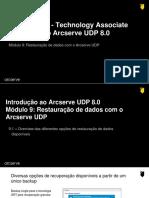 101 - UDP 8 - Modulo 9 - Restauração de Dados Com o Arcserve UDP