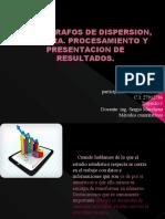 Estadigrafos de Dispersion, Muestra. Procesamiento y Presentacion de Resultados