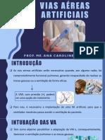 AULA 10 - VIAS AÉREAS ARTIFICIAIS