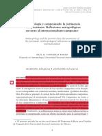 ANTROPOLOGÍA Y CAMPESINADO. RAÚL CONTRERAS