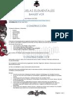 08 Escuelas Elementales - Banlist VCR - Abril 2021