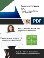 Aula 2 - Método TSAC - Desenvolvimento TCC