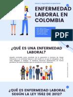 Enfermedad Laboral en Colombia