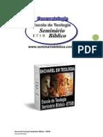 06 -Doutrina do Espirito Santo (Pneumatologia)