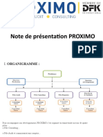 Présentation PROXIMO