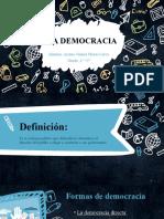 Exposicion sobre la democracia