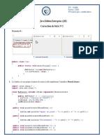 Correction de Série 0 - Java Edition Entreprise (J2E)