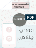 E-book Processamento Auditivo (Fonogisele)