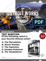 Detroit Works Project - 03/10/21011