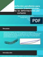 Método de deflexión-pendiente para vigas estáticamente indeterminadas