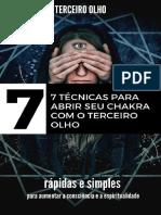 TERCEIRO OLHO_ 7 TÉCNICAS PARA ABRIR SEU CHACKRA COM O TERCEIRO OLHO - MADELEINE LANGLAIS