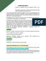 FIJAS DE FARMACO