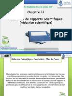 MT1-Cours 01 Rédaction de rapports scientifiques (mémoire, rapport de stage, compte rendu, exposé...etc)