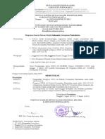 surat pengesahan kepengurusan DKM AT TASBEH