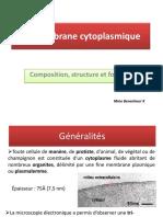 La Membrane Plasmique B3