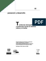 Cepal - Tendencias demográficas y protección social en AL y el Caribe[1]