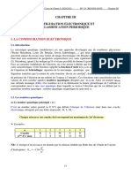 CHAPITRE III -Configuration électronique et classification périodique-l