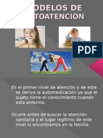 MODELOS DE AUTOATENCIÓN