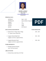 Rochel Resume