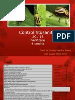Curs Control Fitosanitar