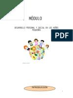 MODULO-Desarrollo personal social