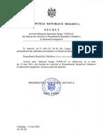 decret prezidențial