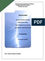 Práctica de Física Electricidad